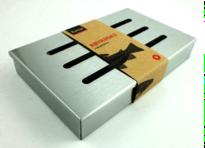 Røykboks for røykflis 21x13x3,4 cm